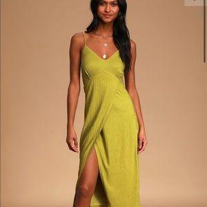 Adorable green Lulus dress